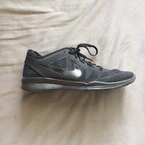 Nike Free TR Fit 5 Black Training Shoe